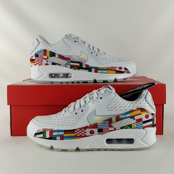 finest selection 68b4f bca19 Nike Shoes | Air Max 90 Nic Qs International Flag Running | Poshmark